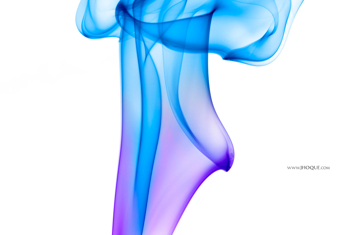 Abstract Inverted Smoke Photo | Tutorial: How to Photograph and Edit Smoke