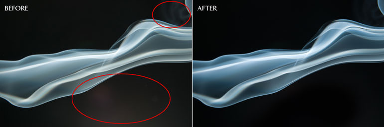 How to Edit Smoke Photos in Photoshop | Before and After Image