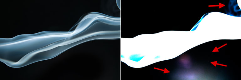 Photoshop For Beginners: How to Process Smoke Photos | Highlight Blemishes
