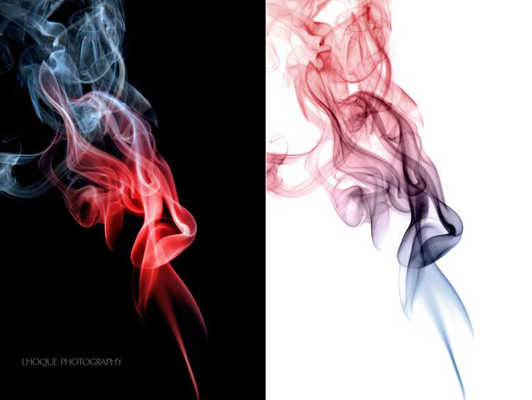 Colourful Smoke Photography | Tutorial: How to Photograph and Edit Smoke
