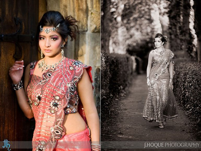 Indian Bridal Portrait | Asian documentary wedding photography Uxbridge 1120