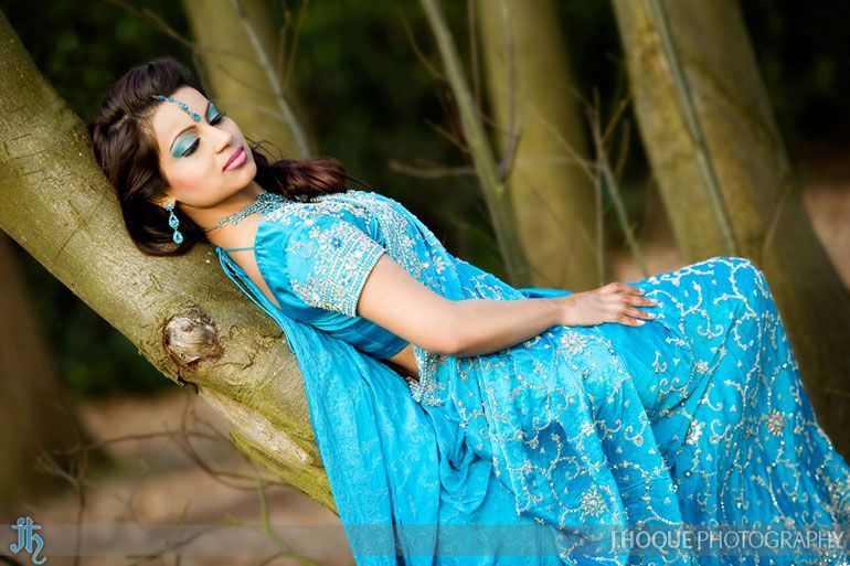 Asian Bridal Portrait Photography London 1377-2
