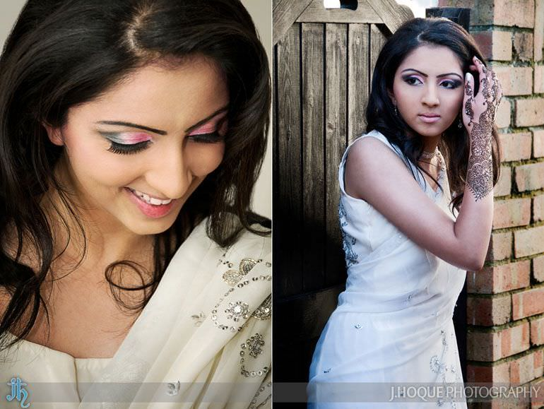 Asian Bridal Portrait Photography London 9427
