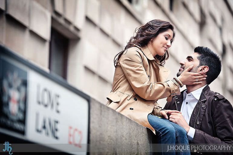 Love Lane EC2 | London Wedding Photography | Pre Wedding in the City | 0021