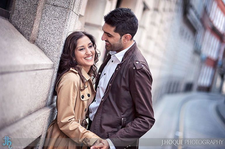London Asian Wedding Photography | Pre Wedding Shoot in St Pauls | 0048