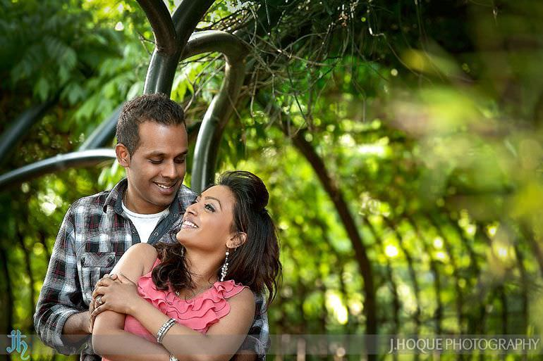 Pre Wedding Shoot in Regents Park | London Asian wedding photography | 0186
