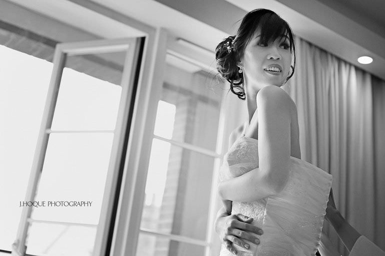 Singaporean Bride getting ready | Multicultural Wedding at The Grove Hertfordshire