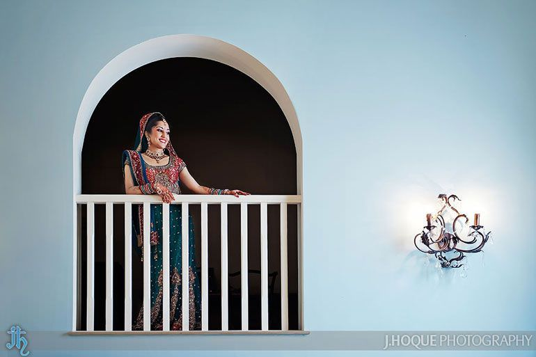 Bride Portrait | Hindu Wedding Photography at Alrewas Hayes | 0020