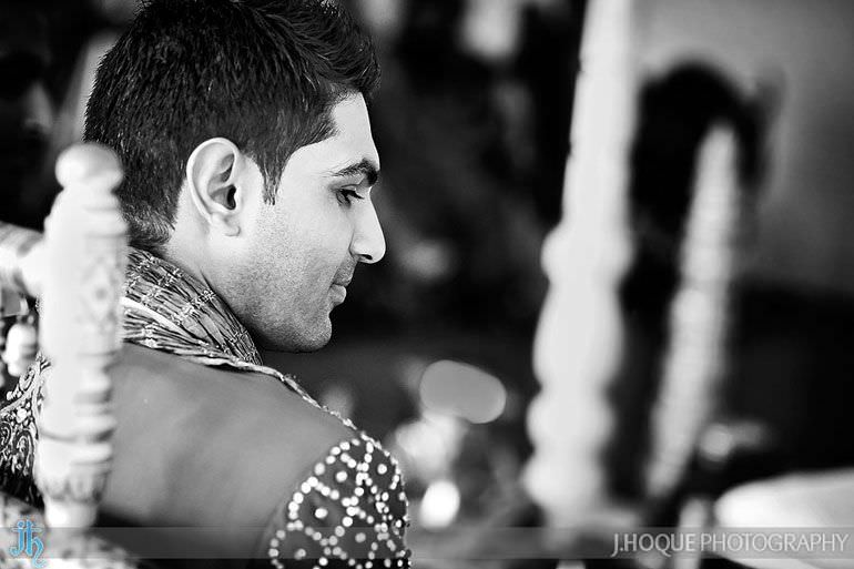 Alrewas Hayes Hindu Wedding Photographer Staffordshire | 0196-BW