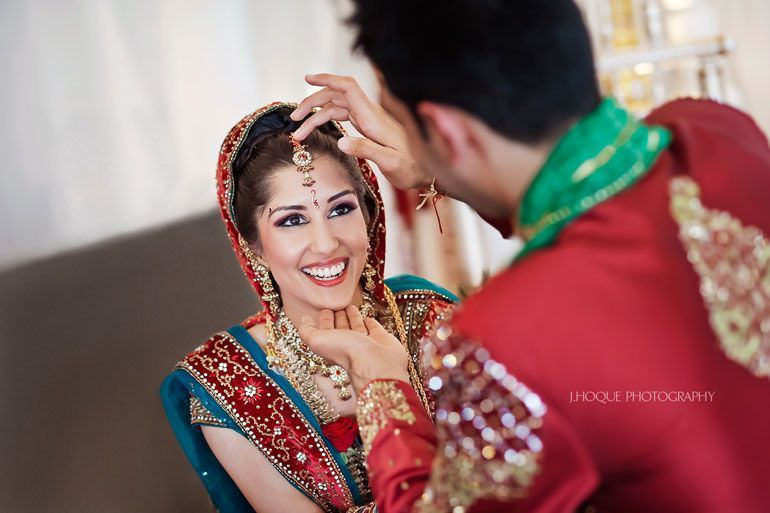Sindoor Ceremony | Hindu Wedding Photography at Alrewas Hayes Staffordshire