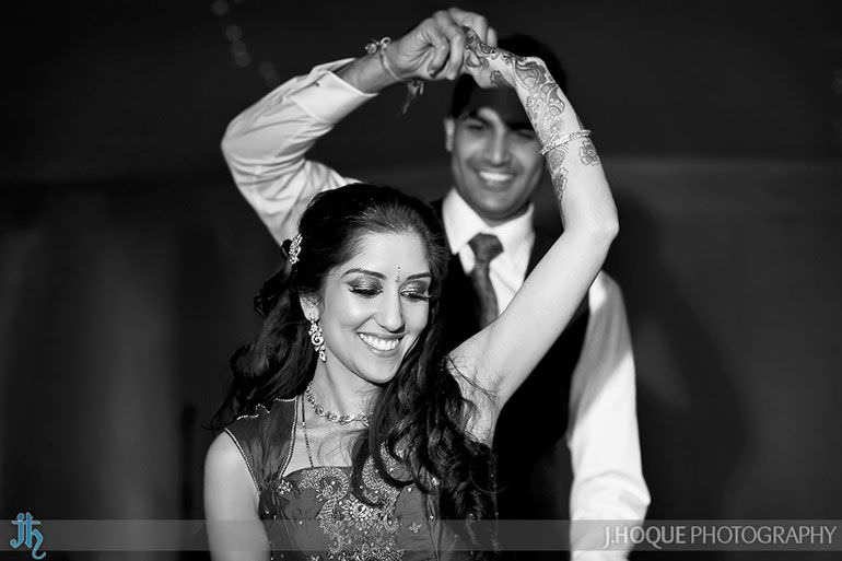 Hindu Wedding Photographer Staffordshire | 0565-BW