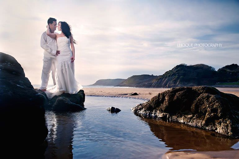 Caswell Bay Post Wedding Shoot | Wales Wedding Photographer 4061