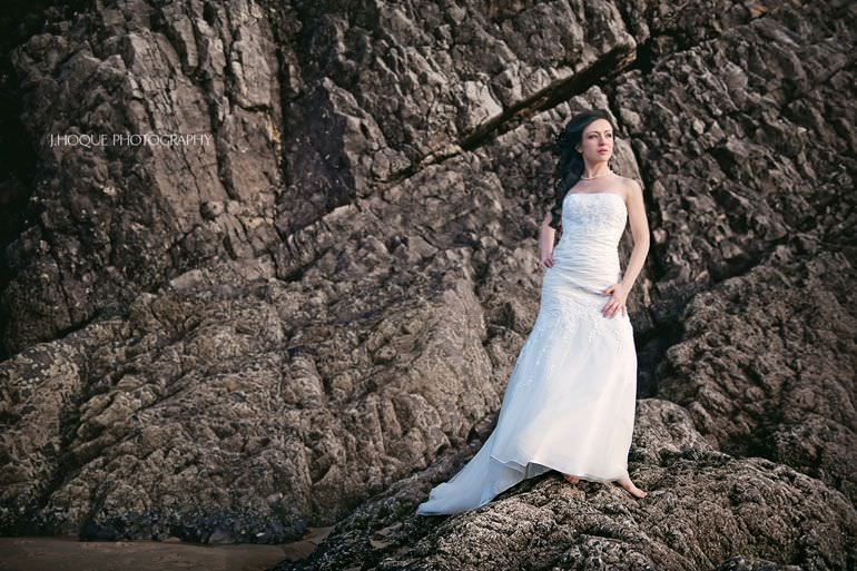 Caswell Bay Post Wedding Shoot | Wales Wedding Photographer 4077