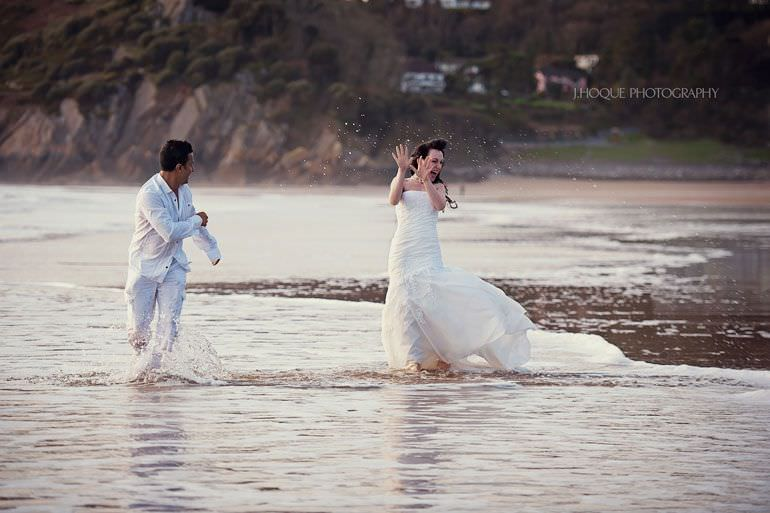 Trash the Dress | Post Wedding Photography Swansea | 4420