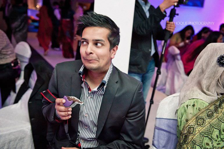 Shahed Hussain from Shot by Shahed at Asian wedding reception in London 362