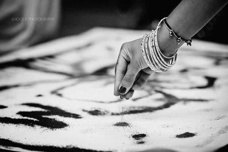Sikh Wedding Photography Kent | Maiyan Ceremony | 025-BW