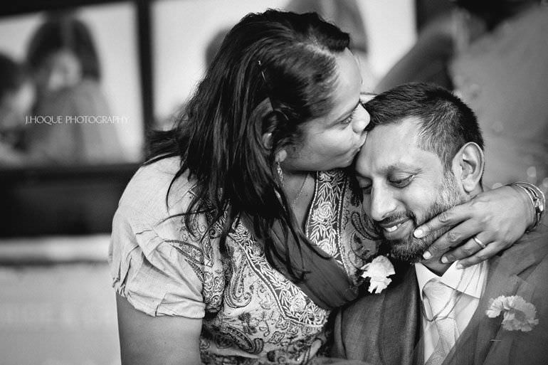 Civil Ceremony | Asian Documentary Wedding Photographer Kent | 269-BW