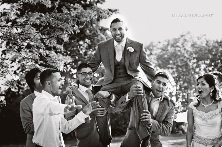 Civil Ceremony | Asian Documentary Wedding Photographer Kent | 304-BW