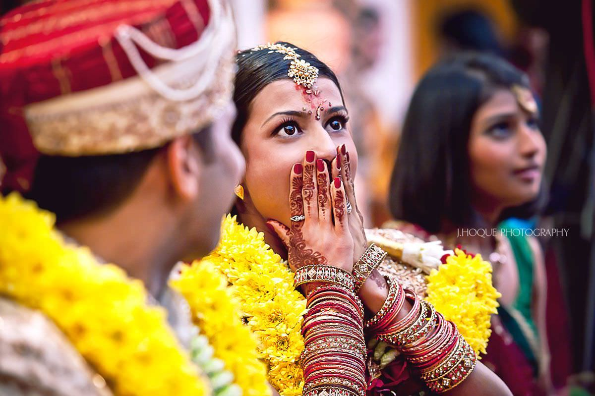 Shocked bride | Indian Tamil Fusion Hindu Wedding in Wembley