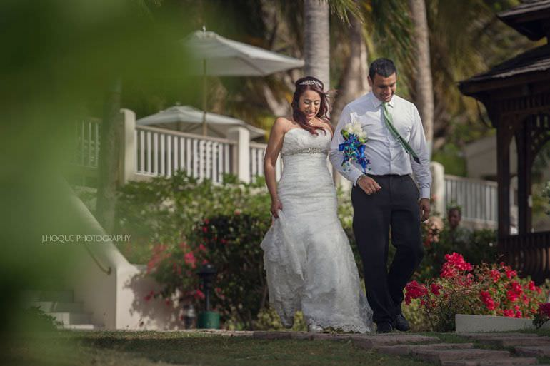 Asian Destination Wedding: Blue Waters Antigua | CIV-0336
