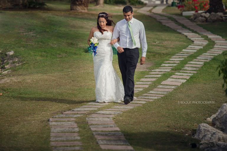 Asian Destination Wedding: Blue Waters Resort Antigua | CIV-0344