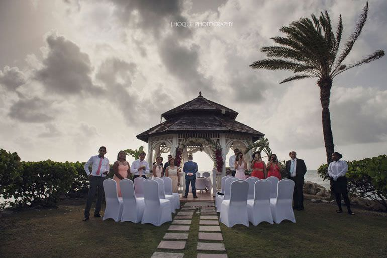 Asian Destination Wedding: Blue Waters Resort Antigua | CIV-0353