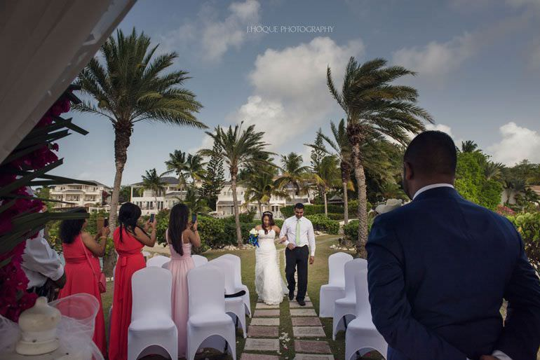 Asian Destination Wedding: Blue Waters Resort Antigua | CIV-0358