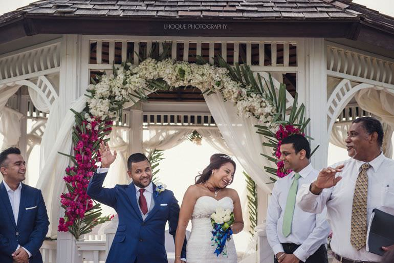 Destination Wedding: Blue Waters Hotel Antigua | CIV-0373