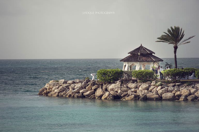 Asian Destination Wedding: Blue Waters Resort Antigua | CIV-0419