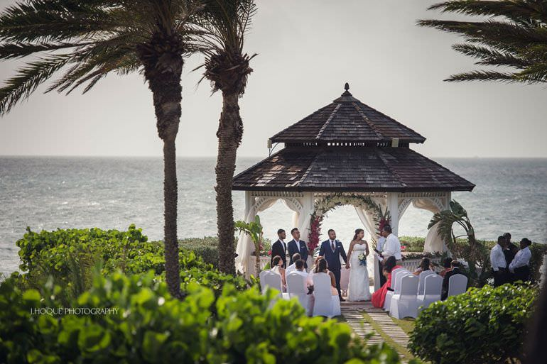 Asian Destination Wedding: Blue Waters Resort Antigua | CIV-0445