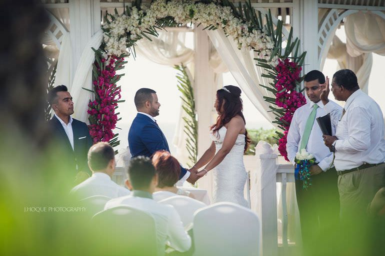 Asian Destination Wedding: Blue Waters Resort Antigua | CIV-0474