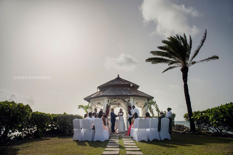 Asian Destination Wedding Photography: Blue Waters Hotel Antigua | CIV-0518
