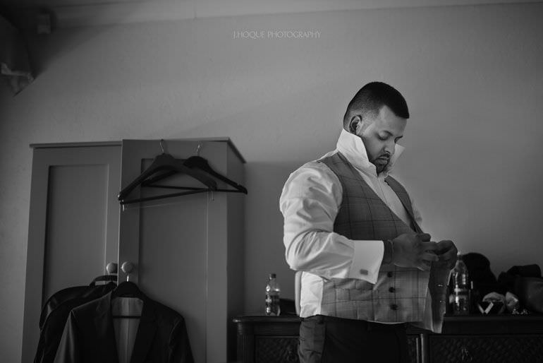 Groom getting ready - Caribbean Destination Wedding: Blue Waters Resort Antigua | CIV-0124