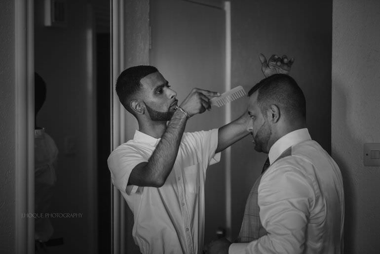 Groom getting ready - Destination Wedding: Blue Waters Resort Antigua | CIV-0144