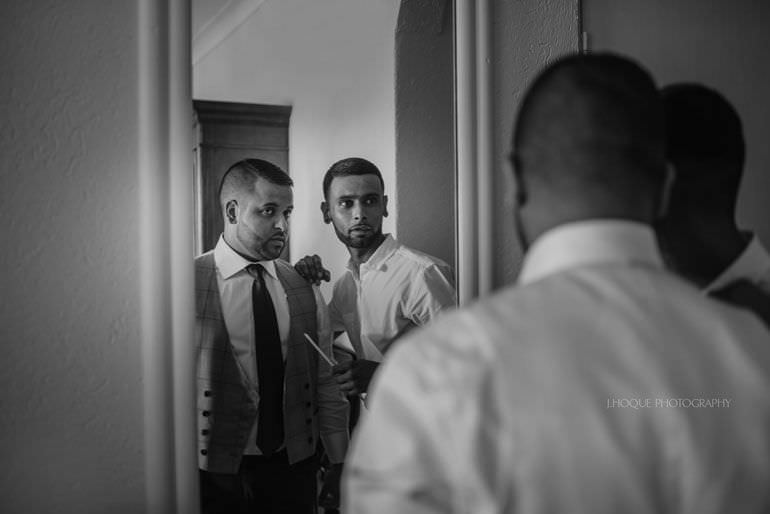 Groom getting ready - Destination Wedding: Blue Waters Resort Antigua | CIV-0152