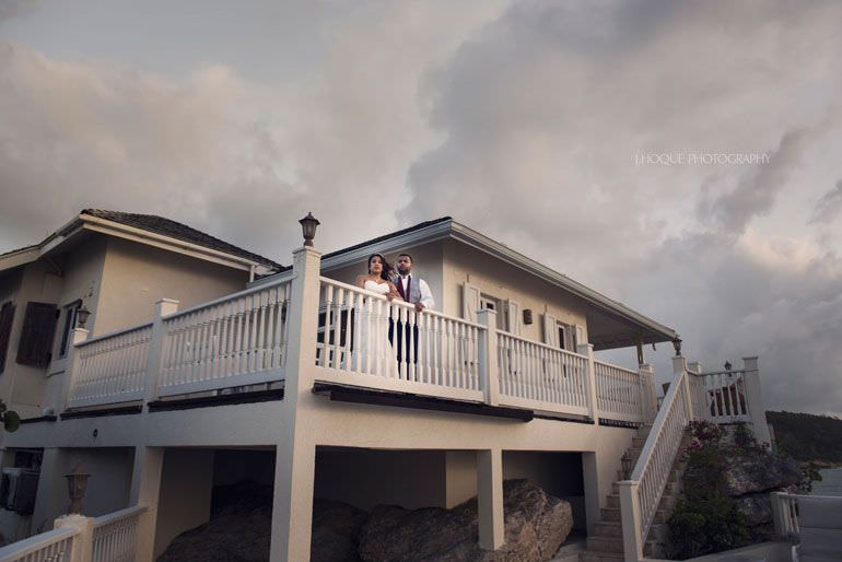 Caribbean Destination Shoot: Rock Cottage Blue Waters Resort Antigua Wedding Photographer -PW-069