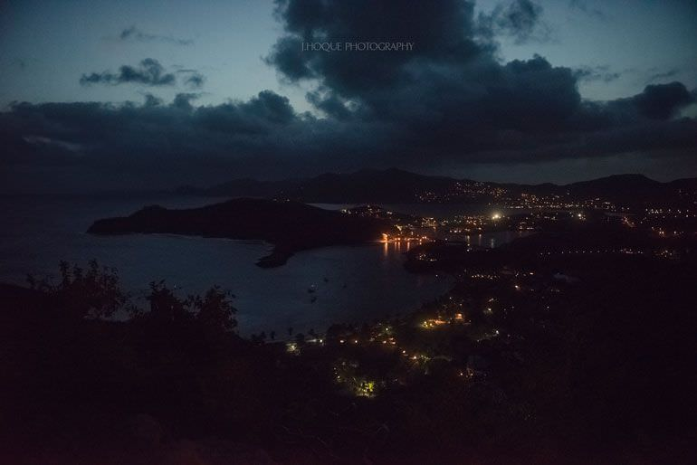 Shirley Heights Antigua - Asian Destination Wedding Photographer | RAN-297