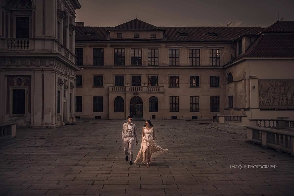 Destination Engagement Shoot Prague | Asian Destination Wedding Photography