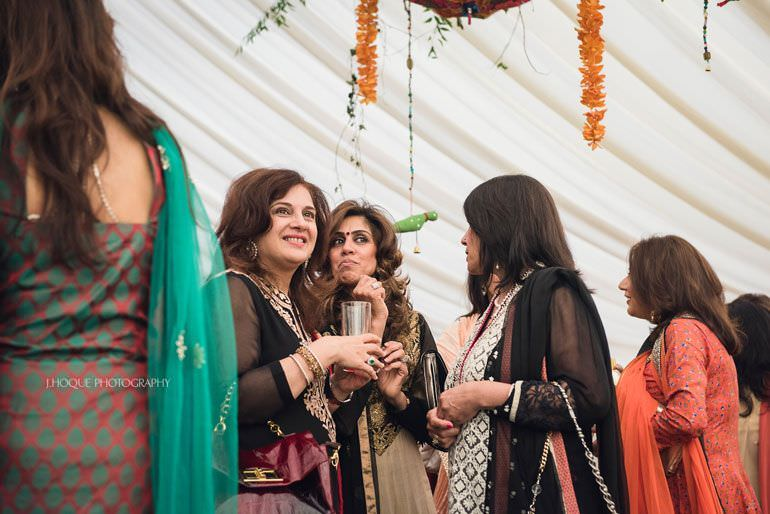 Indian Wedding Manchester | Hale Mehndi Ceremony | 117