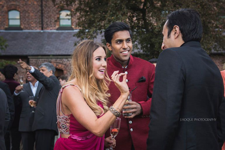 Sangeet at The Monastery | Indian Wedding Photographer Manchester | 046