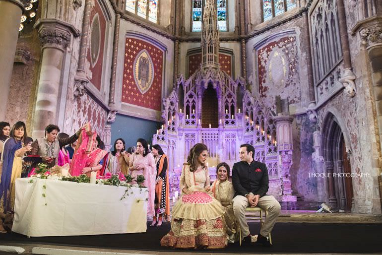 Punjabi Wedding Photography at The Monastery Manchester | 081