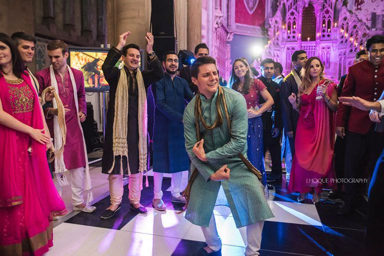 Asian Wedding Manchester | Sangeet Night | The Monastery | 544