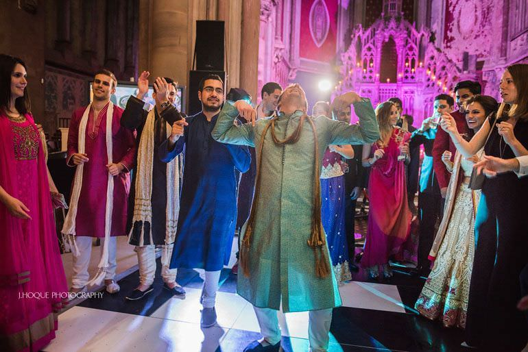 Asian Wedding Manchester | Sangeet Night | The Monastery | 545