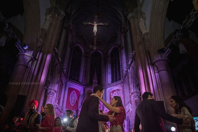 Asian Wedding Manchester | Sangeet Night | The Monastery | 638
