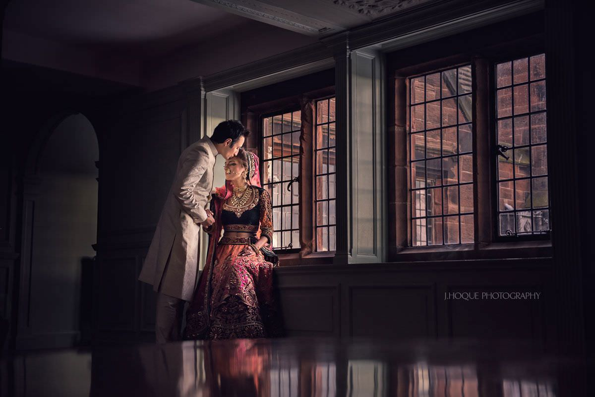 Luxury Asian Wedding Photography at Thornton Manor | WPPI Award Winning Image