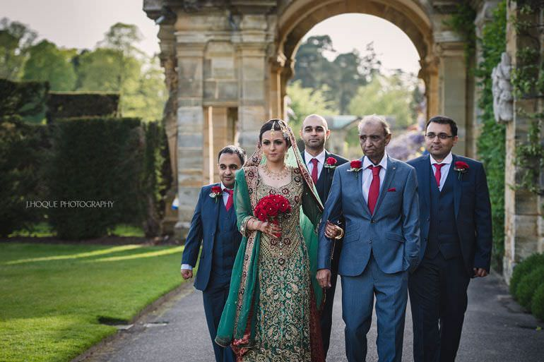 Muslim Documentary Wedding Photography Kent | Hever Castle | 0346
