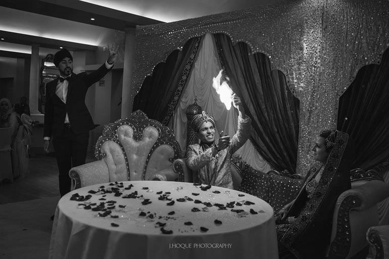 Magic Singh | Asian Wedding Photographer Kent | Hever Castle | 0761-BW