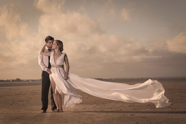 Beach Photography Lighting Tips | Profoto Single Light Setup | Sussex Asian Wedding Photographer | 1382