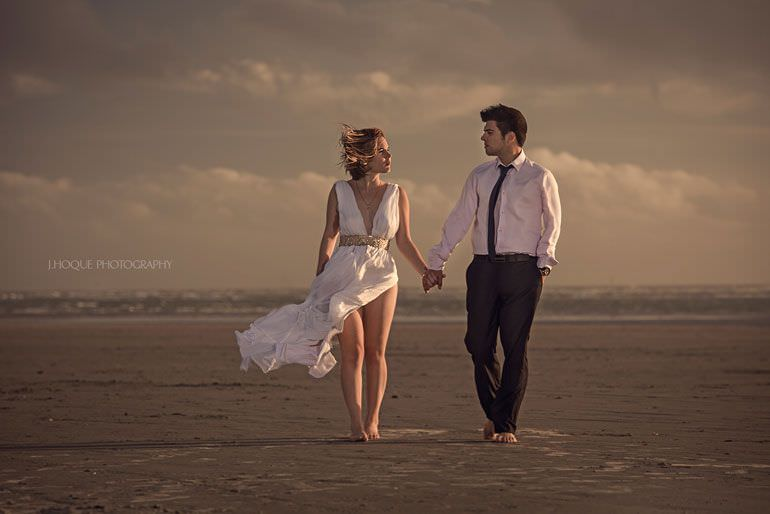 Profoto B1 Beach Photography Lighting Tips | West Wittering Beach Sussex