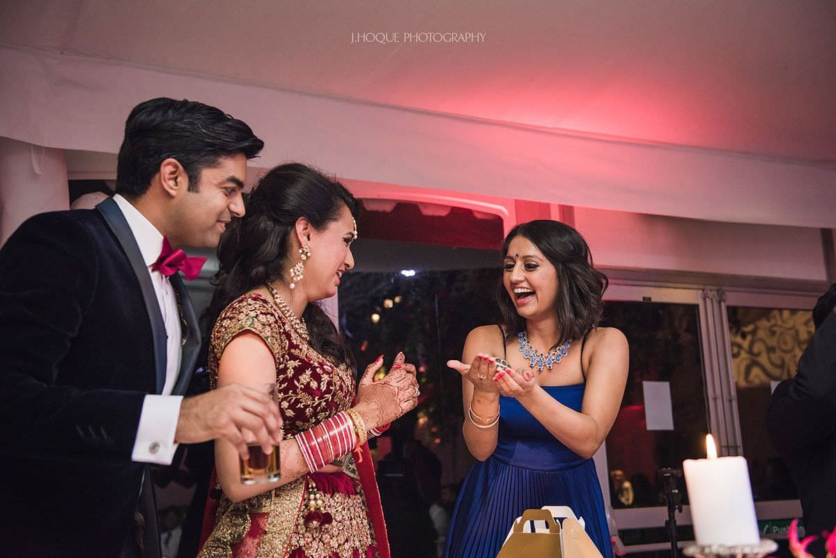 Bride presented with turtle | Asian Wedding Photographer Gloucestershire